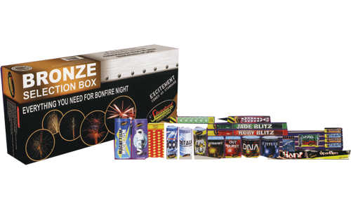 Bronze Selection Box by Standard Fireworks | Niteforce ...