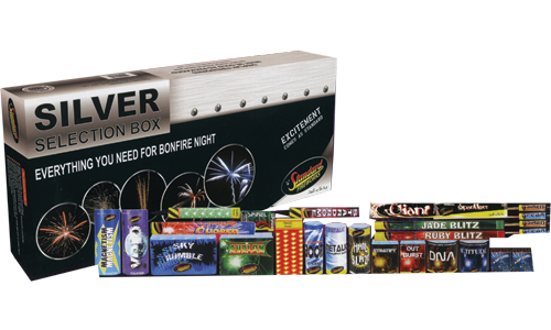 Silver Selection Box by Standard Fireworks | Niteforce ...