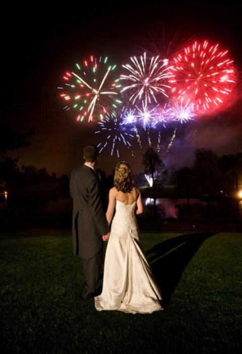 Wedding Displays by Niteforce Fireworks